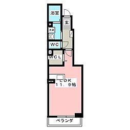 ソフィアB[1階]の間取り