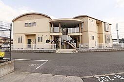 ハイツサーシャA棟[1階]の外観