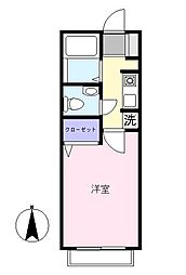 レトアサカワ[101号室]の間取り