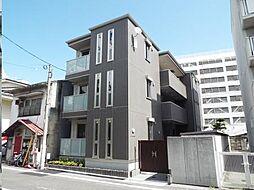 広島県福山市三之丸町の賃貸アパートの外観
