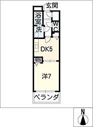 Will Do太閤通[15階]の間取り