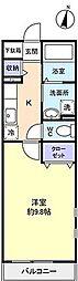 プリムローズ[       1階号室]の間取り