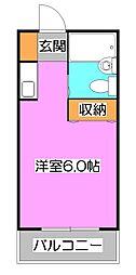 ニュー落合コーポ[2階]の間取り