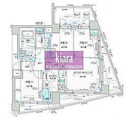 ウィルローズ横濱吉野町[3階]の間取り
