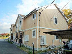東京都稲城市平尾の賃貸アパートの外観