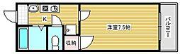 NANIWAI番館[8階]の間取り