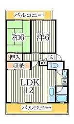 パークシティ白扇2号棟[3階]の間取り