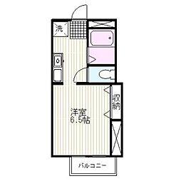マルモハイツ[2階]の間取り