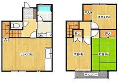 山王ガーデンハウス4街区[B5号室]の間取り