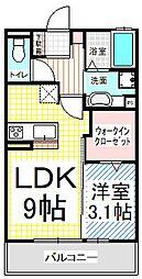 仮)D-room三輪3丁目[1階]の間取り