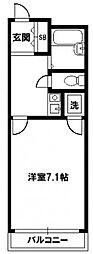 ヴェローノ新大阪南[4階]の間取り
