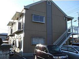 栃木県宇都宮市砥上町の賃貸アパートの外観