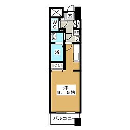 パークフラッツ五橋[11階]の間取り