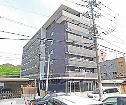 京都府京都市山科区御陵別所町の賃貸マンションの外観