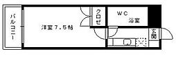 スチューデント室見[4階]の間取り
