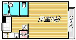 ガーディナル湯田[1階]の間取り