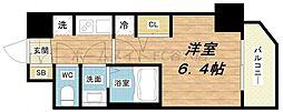 エステムコート梅田北IIゼニス[5階]の間取り