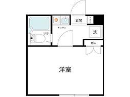 スカイコート武蔵小杉5[3階]の間取り