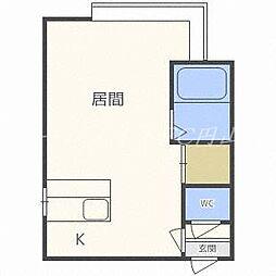 パブリック913[3階]の間取り