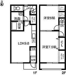 Maison de Sray・II・C[102号室]の間取り