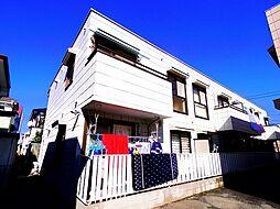埼玉県所沢市中新井2丁目の賃貸アパートの外観