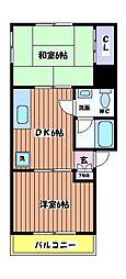 メゾングランデ88[2階]の間取り