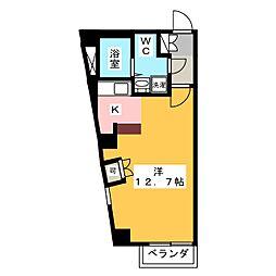 アールヴヘイム[4階]の間取り
