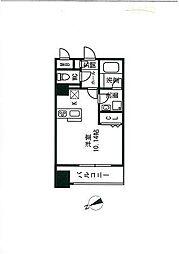 ステーションタワー  トヨシマ[6階]の間取り