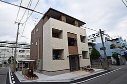 兵庫県尼崎市水堂町3丁目の賃貸アパートの外観