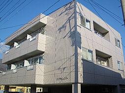長野県上田市中央4丁目の賃貸アパートの外観