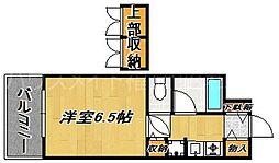 ダイナコート平尾山荘通り[6階]の間取り