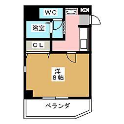 エストレヤビル[3階]の間取り