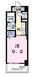 オンフォレスト芳泉[6階]の間取り
