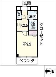 ノーブル コート[10階]の間取り