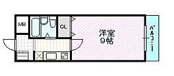 サンライン成育[6階]の間取り