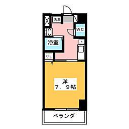サン・名駅南ビル[8階]の間取り