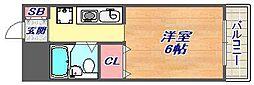 神戸リブプレイス[4階]の間取り