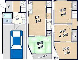 今福南2丁目貸家 1階4DKの間取り