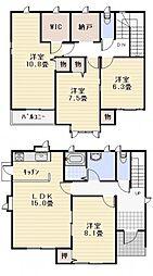 [一戸建] 神奈川県三浦郡葉山町下山口 の賃貸【/】の間取り