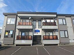 北海道札幌市東区北二十条東20丁目の賃貸アパートの外観
