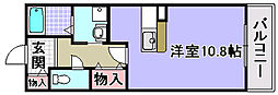 プレステージ1[107号室]の間取り