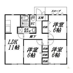 [一戸建] 静岡県浜松市中区名塚町 の賃貸【/】の間取り