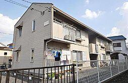 埼玉県草加市青柳5丁目の賃貸アパートの外観