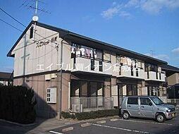 岡山県倉敷市日吉町丁目なしの賃貸アパートの外観