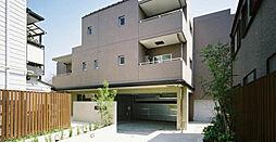 東京都目黒区五本木3丁目の賃貸マンションの外観