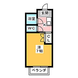 メゾンド・メモリアル[2階]の間取り