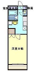 Plume百園(プリムモモゾノ)[2階]の間取り