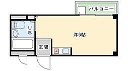 Amenity K[1階]の間取り