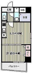 アン・ジュバン/[2階]の間取り