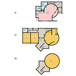 バウハウスII[2階]の間取り